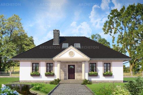 Проект дома Александрия Тура