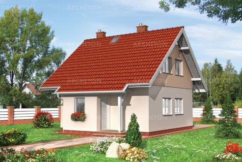 Проект дома Горошек