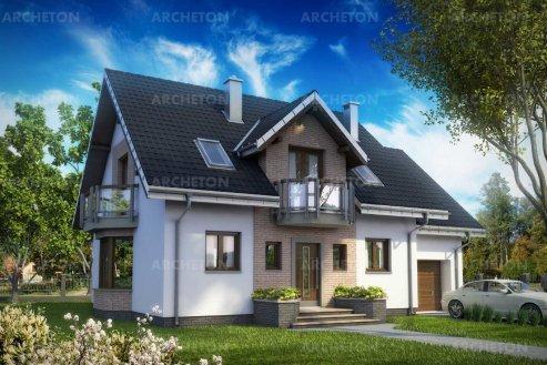 Проект дома Алёна Эко