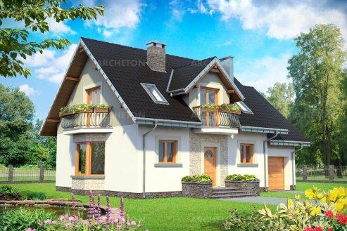 Проект дома Алёна Рекс