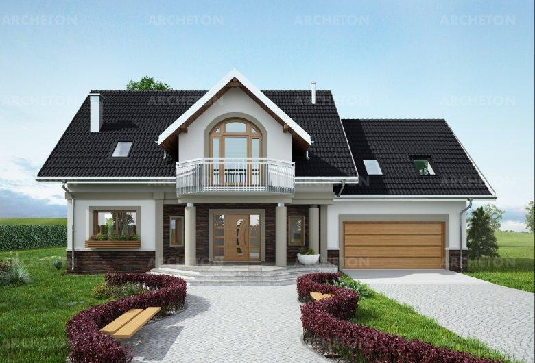 Проект дома Гелиодор - общее описание - Архетон