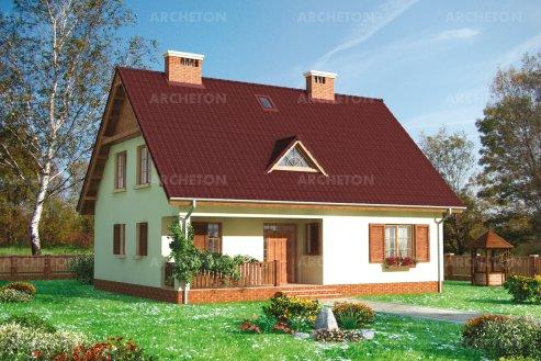 Проект дома Кремень