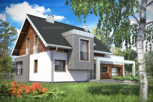 Проект дома Лара