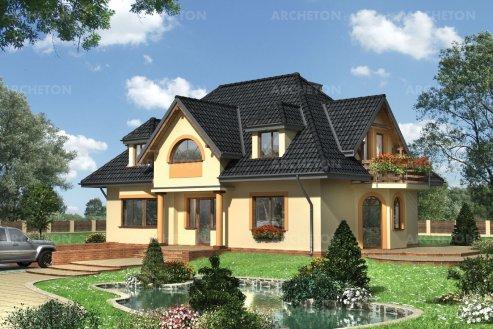 Проект дома Иберис