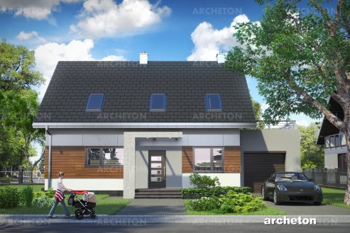 Проект дома Рената