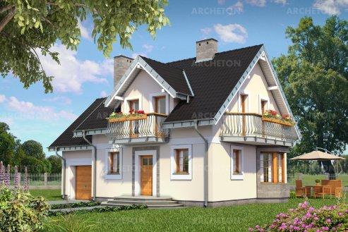 Проект дома Смычок Альфа
