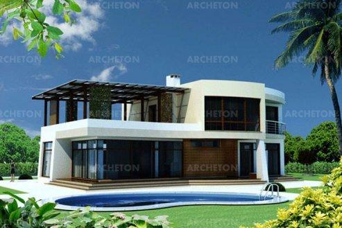 Проект дома Бета