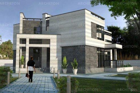 Проект дома Омега