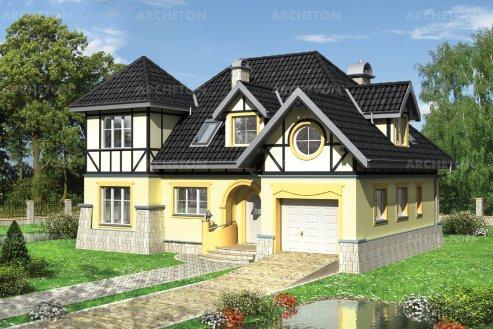 Проект дома Задора Люкс